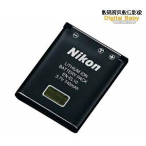 Nikon EN-EL10 原廠鋰電池(ENEL10,國祥公司貨,適用S3000/ S80,同Olympus LI-42B原廠電池)