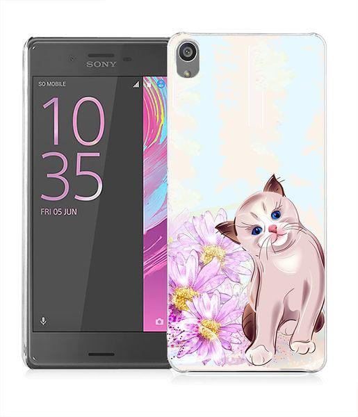 ♥ 俏魔女美人館 ♥SONY Xperia XA{貓咪*水晶硬殼} 手機殼 手機套 保護殼