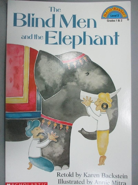 【書寶二手書T9/原文小說_ZEO】The Blind Men and the Elephant_Backstein,