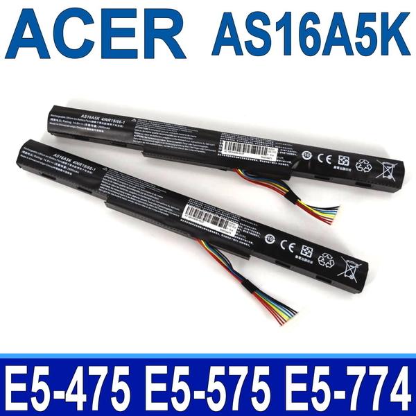 ACER AS16A5K 4芯 高品質電池  E5-523G E5-553G E5-576G E5-774 E5-774G E5-523G E5-553G E5-576G E5-774 E5-774G