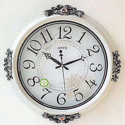 歐式田園時鐘(裂紋)