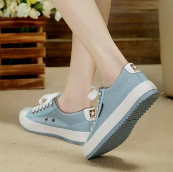 新款韓版春夏帆布鞋女學生低筒鞋休閒鞋子平跟板鞋潮女鞋平底布鞋
