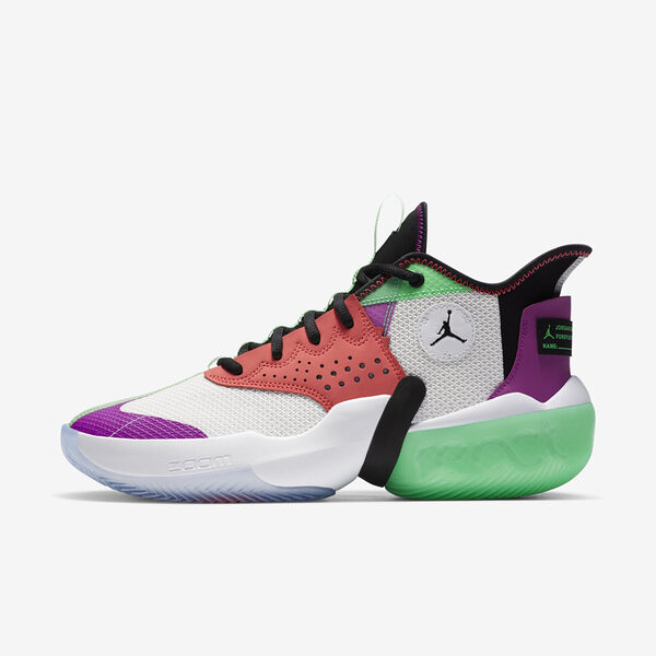 Nike Jordan React Elevation Pf [CK6617-101] 男鞋 運動 籃球 喬丹 穿搭 白
