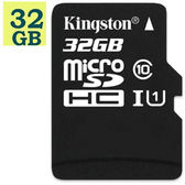 KINGSTON 32GB 32G microSDHC【80MB/s】Canvas Select microSD SDHC UHS U1 C10 SDCS/32GB 金士頓 手機記憶卡