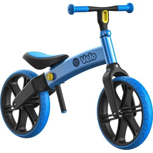 哈樂維 Holiway Velo Refresh 12吋平衡滑步車-悠遊款-大海藍贈日本動物燈(隨機出貨)[衛立兒生活館]