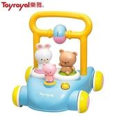 【南紡購物中心】日本《樂雅 Toyroyal》森林好朋友音樂助步車