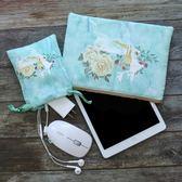 新款iPad保護套內膽包布袋子可愛 9.7英寸蘋果平板電腦收納包  千惠衣屋