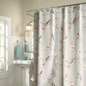 浴簾浴室洗澡掛簾子套裝防水防霉加厚免打孔衛生間廁所隔斷窗簾布MJBL