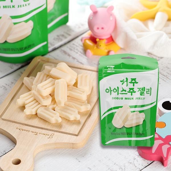 韓國 SEOJU 冰淇淋造型 牛奶風味軟糖 40g【庫奇小舖】