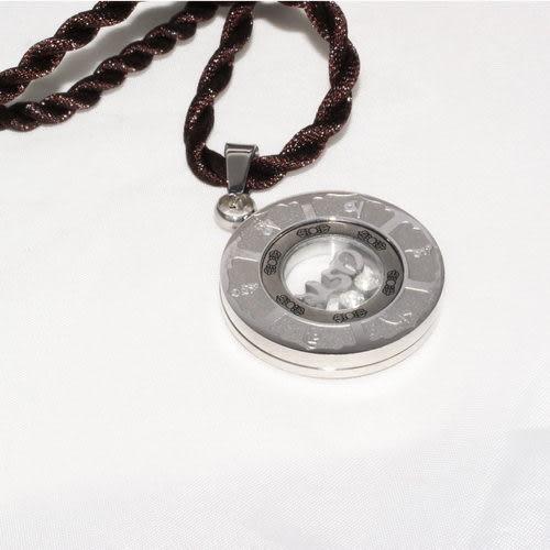 【藏傳佛教文物】六字大明咒轉運能量磁石項鍊-(PBN49)
