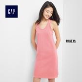 Gap女裝 莫代爾柔軟背心式無袖洋裝女 335349-粉紅色