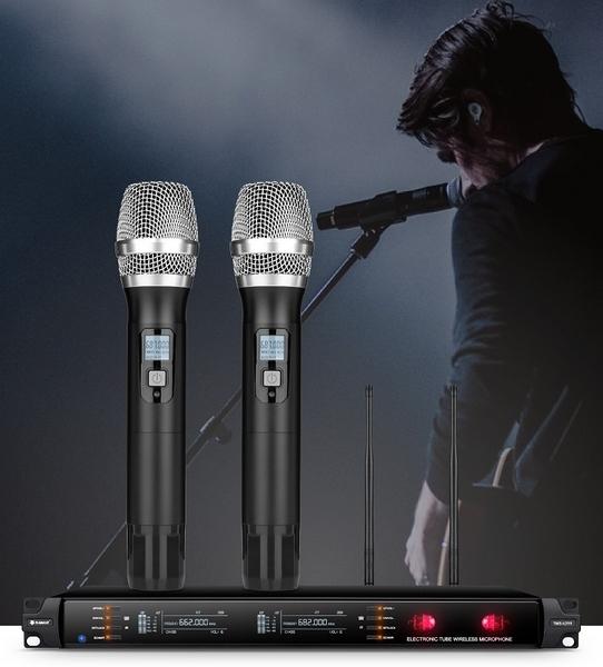 新竹推薦卡拉OK音響《名展影音》 義大利 Summuz E3000 真空管無線麥克風 卡拉ok專用