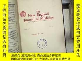 二手書博民逛書店THE罕見NEW ENGLAND JOURNAL OF MEDICINE VOL 318 JAN-MAR 1988