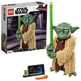 LEGO 樂高 Star Wars: Attack of The Clones Yoda 75255 Yoda (1,771 Pieces)