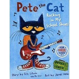 【麥克書店】PETE THE CAT: ROCKING IN MY SCHOOL SHOES @精裝本