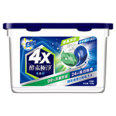 白蘭4X酵素洗衣球(除菌淨味)18顆【愛買】