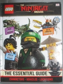 【書寶二手書T6/少年童書_YJM】The Essential Guide_Lego_The Ninago movie