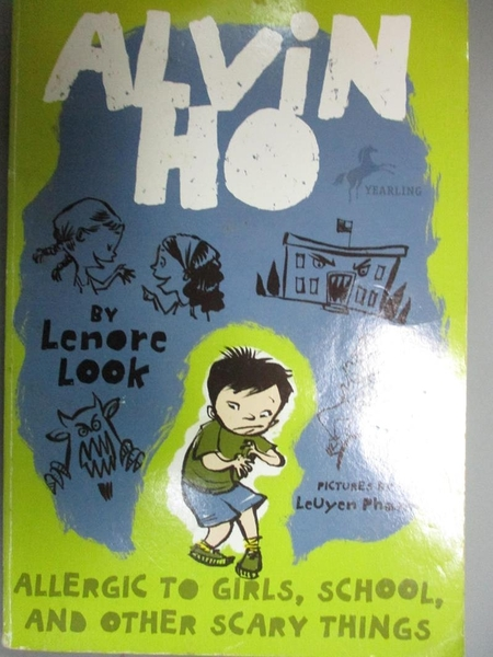 【書寶二手書T1/少年童書_NOE】Allergic to Girls, School, and Other Scary Things_Look, Lenore