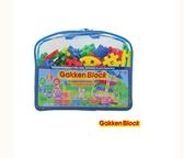 唯可 GakkenBlock 日本學研益智積木-挑戰系列-藍色