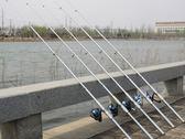 萬聖節狂歡   海竿套裝釣魚竿超硬拋竿清倉甩桿遠投竿海桿全套組合漁具釣桿   mandyc衣間