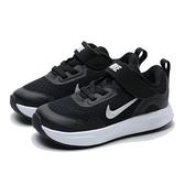 NIKE 休閒鞋 WEARALLDAY TD 黑白 輕量 透氣 運動鞋 小童 (布魯克林) CJ3818-002