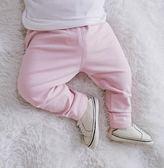女嬰童2018春夏季新款韓版純棉打底褲新生兒純色百搭長褲 春生雜貨