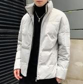 冬季新款棉衣男士韓版潮流寬鬆加厚短款外套學生休閒棉服冬裝棉襖YJ2698『東京衣社』