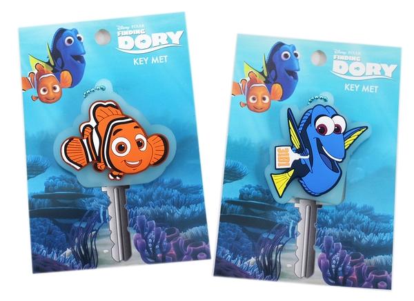 【卡漫城】 海底總動員 KEY 造形頭 二款選一 ㊣版 尼莫 Nemo 多莉 Dory 吊飾 橡膠 鑰匙套 鑰匙圈 掛飾