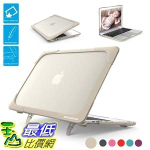 保護殼帶支架 BRAECNstock for MacBook 12 Inch Case, [Heavy Duty] Slim Rubberized B075T84YQF