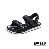 G.P(女)高彈力舒適兩用涼拖鞋 女鞋-黑(另有黑桃.紫)