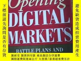 二手書博民逛書店OPENING罕見DIGITAL MARKETSY186637