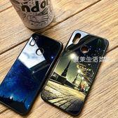 小米8手機殼玻璃男女款探索版潮牌創意個性mi8防摔se全包超薄硅膠小米八·夏茉生活