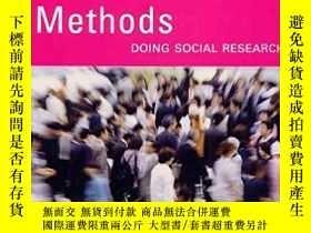 二手書博民逛書店Methods:罕見Doing Social Research
