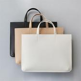 新款手拎包女手提包OL商務辦公包筆記本電腦包公文包LX聖誕交換禮物