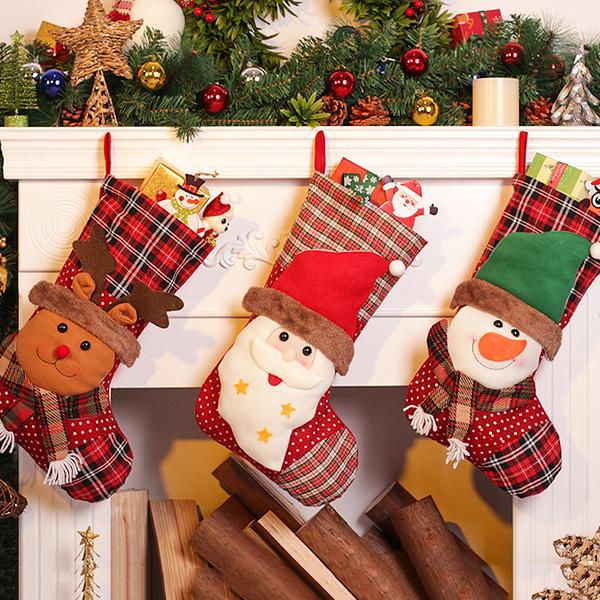 聖誕禮品11  聖誕樹裝飾品 禮品派對 裝飾 聖誕襪 禮物袋