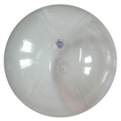 [衣林時尚] 全透明沙灘球 海灘球 (充氣後直徑約25cm)  非INTEX商品