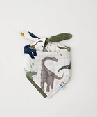 美國 Little Unicorn 純棉三角雙面圍兜 - 侏儸紀