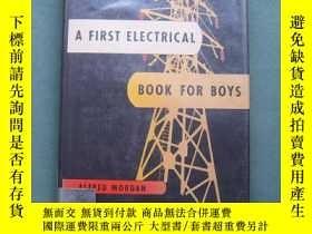 二手書博民逛書店A罕見FIRST ELECTRICAL BOOK FOR BOY