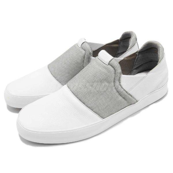 Puma 休閒鞋 SF Slip On 白 灰 懶人鞋 無鞋帶 法拉利 Ferrari 運動鞋 男鞋【PUMP306】 30611802