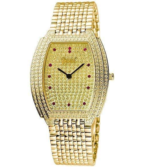 Ogival 愛其華 晶華系列璀璨珠寶腕錶-金 3872MK
