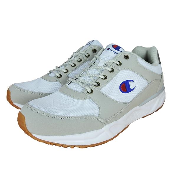 Champion HONEST 男款卡其白色運動復古慢跑鞋-NO.MFUS-9019-10