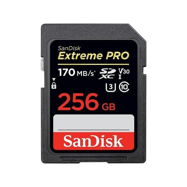 SanDisk Extreme PRO SDXC U3 V30 UHS-I 256G 記憶卡(大卡) 170MB/s