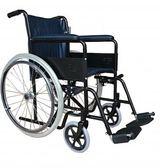 鐵製輪椅 A款補助 烤漆單煞 FZK-105