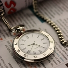 懷錶 時尚復古學生考試阿拉伯字掛表羅馬字男老人女表石英懷表手表【快速出貨八折下殺】