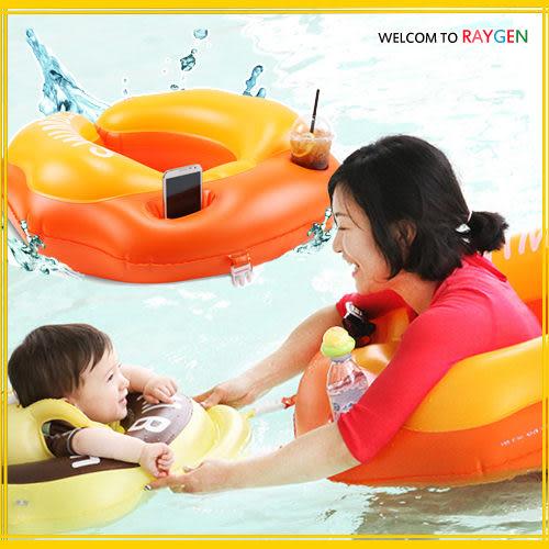 泳圈 寶寶遮陽可拆式母子圈 遊泳圈 遊泳圈 浮圈【大人款】