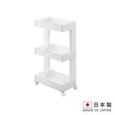 日本製造 3層置物附輪櫃(窄版)