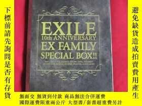 二手書博民逛書店EXILE罕見10TH ANNIVERSARY EX FAMIL