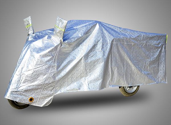 電動三輪車車罩老年代步車衣三輪摩托車披防雨防曬罩冬季通用加厚 ATF 夏季狂歡