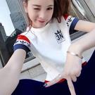 兩件套短袖長褲夏季天休閒運動套裝女2021年春新款純棉薄款寬鬆潮 依凡卡時尚