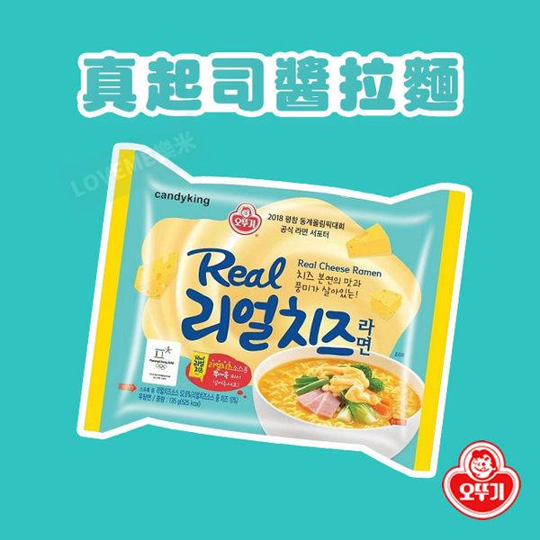 韓國 不倒翁 真起司醬拉麵 (單包) 135g 泡麵 起司 韓國拉麵